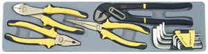14pc pliers and hex set